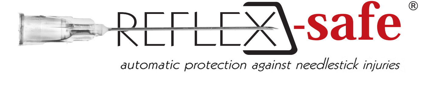 reflex safe needles logo