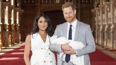 Latest International News : Royal baby:Prince Harry and Meghan Markle name him Archie