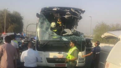 Oman Latest News : Dubai bus crash: Embassy appoints lawyer for Omani driver