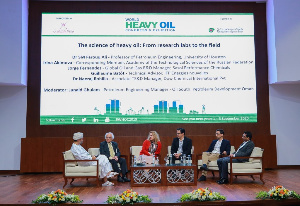 In Pictures: World Heavy Oil Congress in Oman - The Arabian