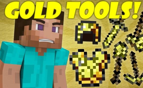 Minecraft Are Golden Tools Useless?