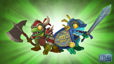 Murloc companion for Horde and Alliance players in World of Warcraft
