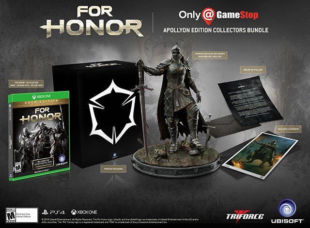 For Honor Collectors Edition