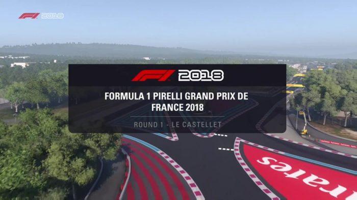F1 2018 - Gran Premio de Francia 1