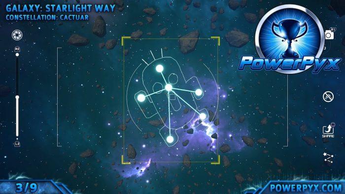 Kingdom Hearts 3 - Posición de las constelaciones a fotografiar 3