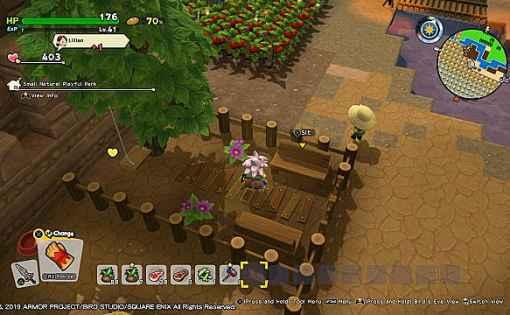 Dragon Quest Builders 2 - Cómo construir el Parque de Juegos