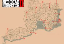 Red Dead Redemption 2 - Donde encontrar todos los Animales Legendarios