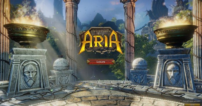 Legends Of Aria - Guía de iniciación 1