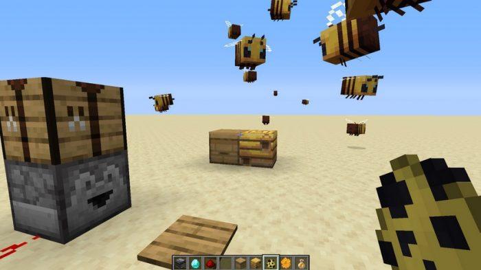 Minecraft - Abejas y Colmenas (1.14.4) 1