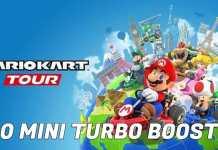 Mario Kart Tour -  Cómo hacer 30 Mini Turbo Boosts en una carrera 1