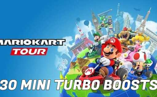 Mario Kart Tour -  Cómo hacer 30 Mini Turbo Boosts en una carrera 1