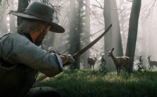 Red Dead Redemption 2 - Cómo se actualiza el arco y las flechas (Longarm Back Bow)