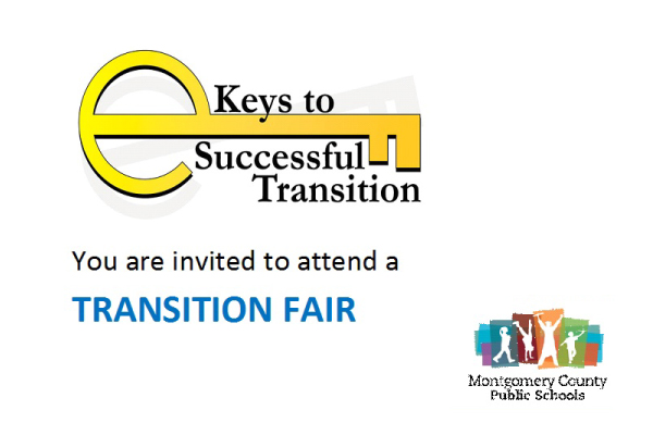 MCPS Transition Fair presented by the Montgomery County Public Schools