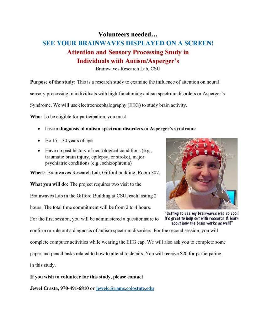 Opportunities To Participate In Autism >> Study Survey Opportunities The Arc Pikes Peak Region