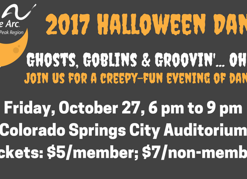2017 halloween dance friday october 27 6 9 pm colorado springs - Halloween Colorado 2017