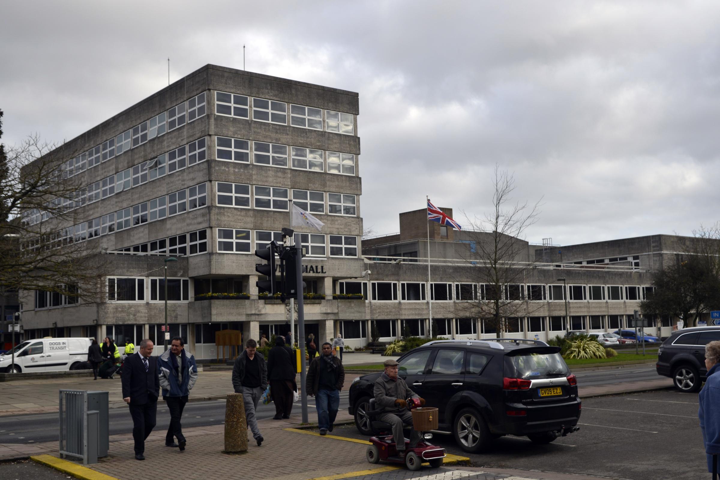 Tory leaders in Crawley in UKIP defection