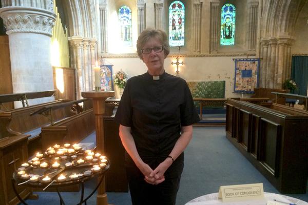 Ann Waizeneker de St Mary de Haura en Shoreham es el nuevo decano del Ministerio de la Mujer