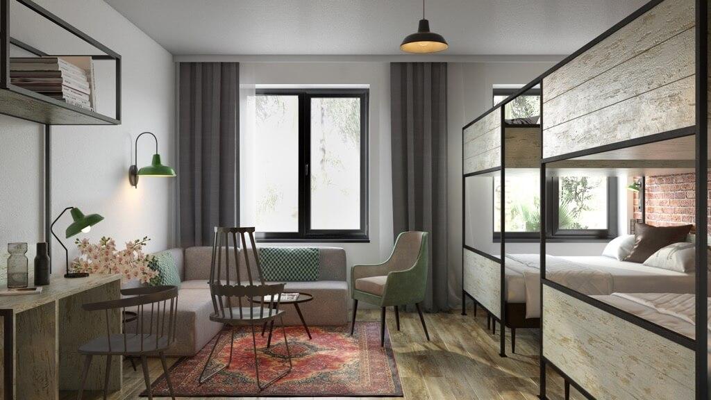 GuestHouse Hotel Farmhouse room | ThearieZiet dit er niet prachtig uit?
