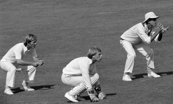 Mike Brearley placing a helmet at short mid-wicket - 5 of the most innovative tactics that were employed as a stopgap solution