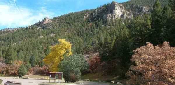 Cimarron Canyon State Park The Sights and Sites of America