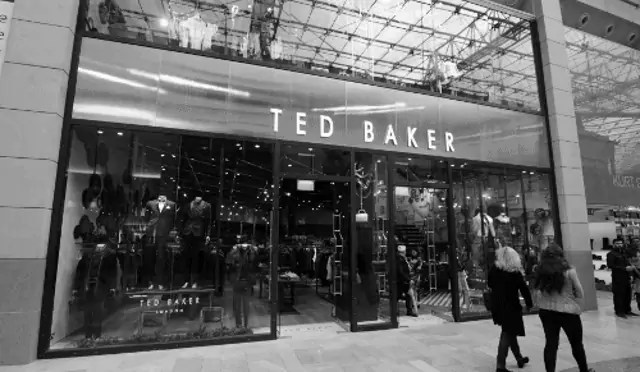 Ted Baker Shopfront
