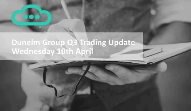 Dunelm Group Shares Apr19