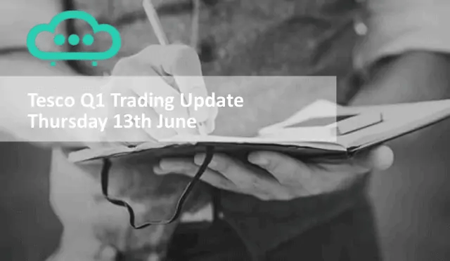 Tesco Shares Q1 Trading Update - 13th June