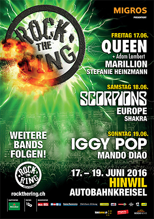 Rock the Ring hinwil 2016