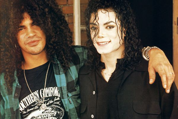 Michael Jackson und Slash