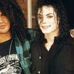 Michael Jackson und Slash