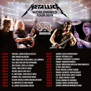 Metallica Ghost 2019