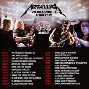Metallica zusammen mit Ghost in Zürich
