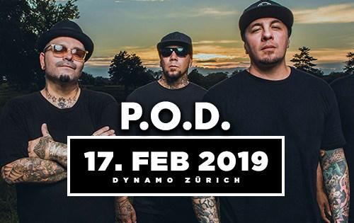P.O.D. Tour 2019