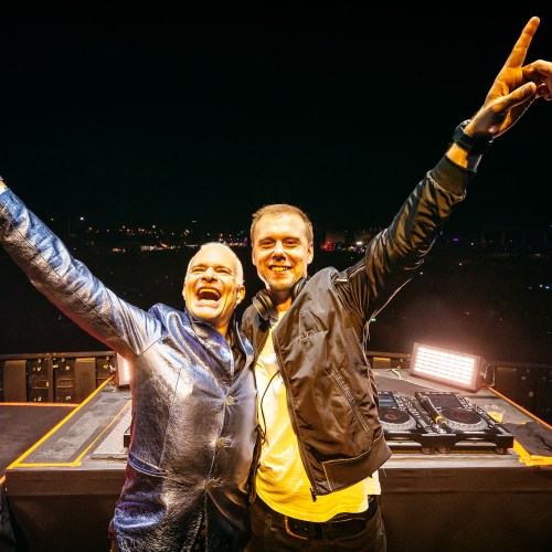 Armin van Buuren und David Lee Roth