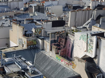 גגות פריז ממרכז פומפידו