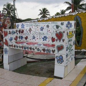 עבודות פסיפס בלב קובה. צילום: איריס עשת כהן