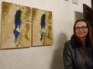 תערוכת בינאלה ונציהאודליה אלחנני אמנית