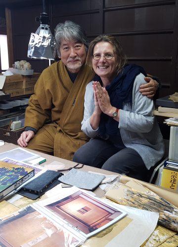 מפגש עם האמן היפני HAKUYA NOGUCHI  ועלי הזהב
