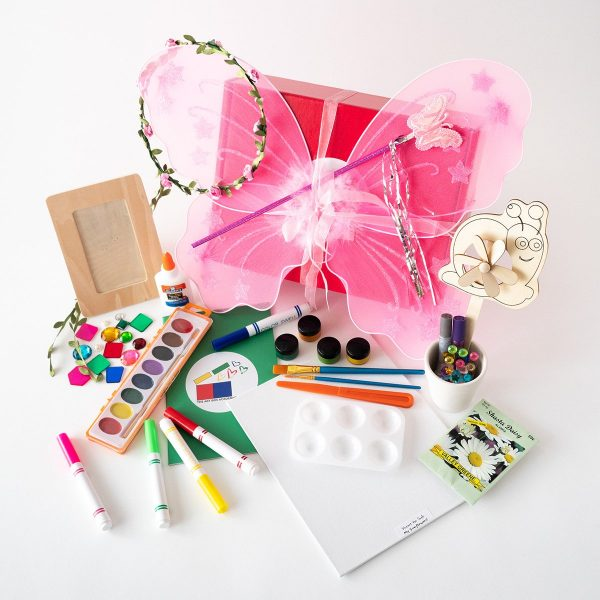 Contents of the Fairy Art Box