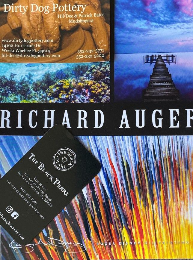 Picture of Artist Business Cards