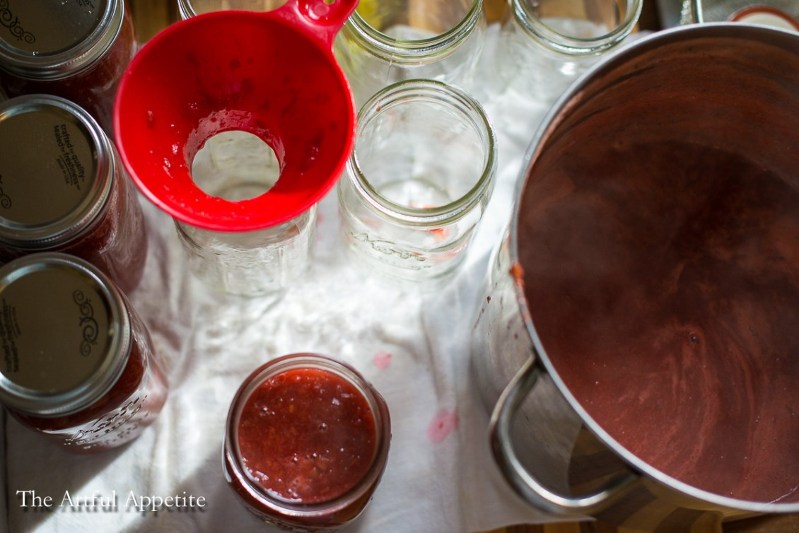 Rhubarb Pineapple Jam Rhubarb Strawberry Jam The Artful Appetite