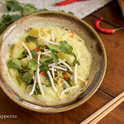 Coconut Bok Choy Soup and Awesome Vegan Soups Cookbook Review
