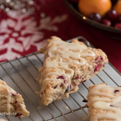 These Cranberry Orange Walnut Vegan Scones are the perfect addition to any holiday brunch or breakfast!