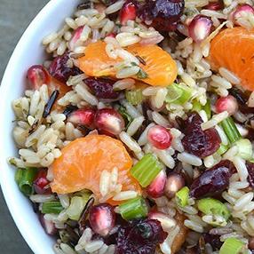 Wild Rice Fruit Salad