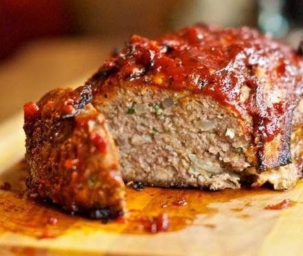 Jalapeno-Cheddar Meatloaf w/ Savory Tomato Gravy