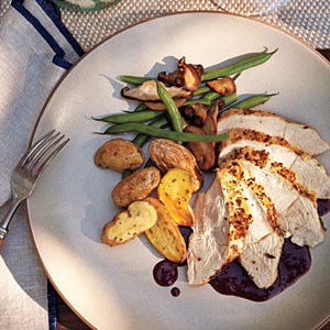 chicken pinot noir