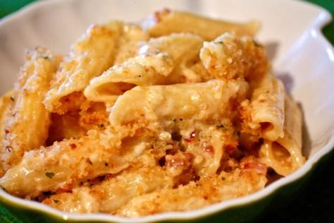 Truffle-Pancetta-3 Cheese-Pasta