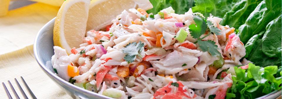 Crab Salad Calorie Recipe