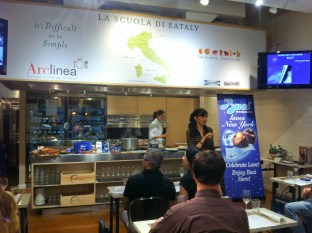 Francine Segan for Baci Perugina Chocolate Class at Eataly
