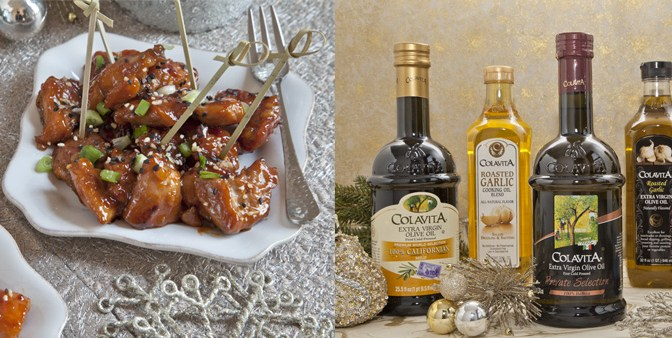 5 Holiday Appetizer Recipes and Colavita Olive Oil Holiday Giveaway!